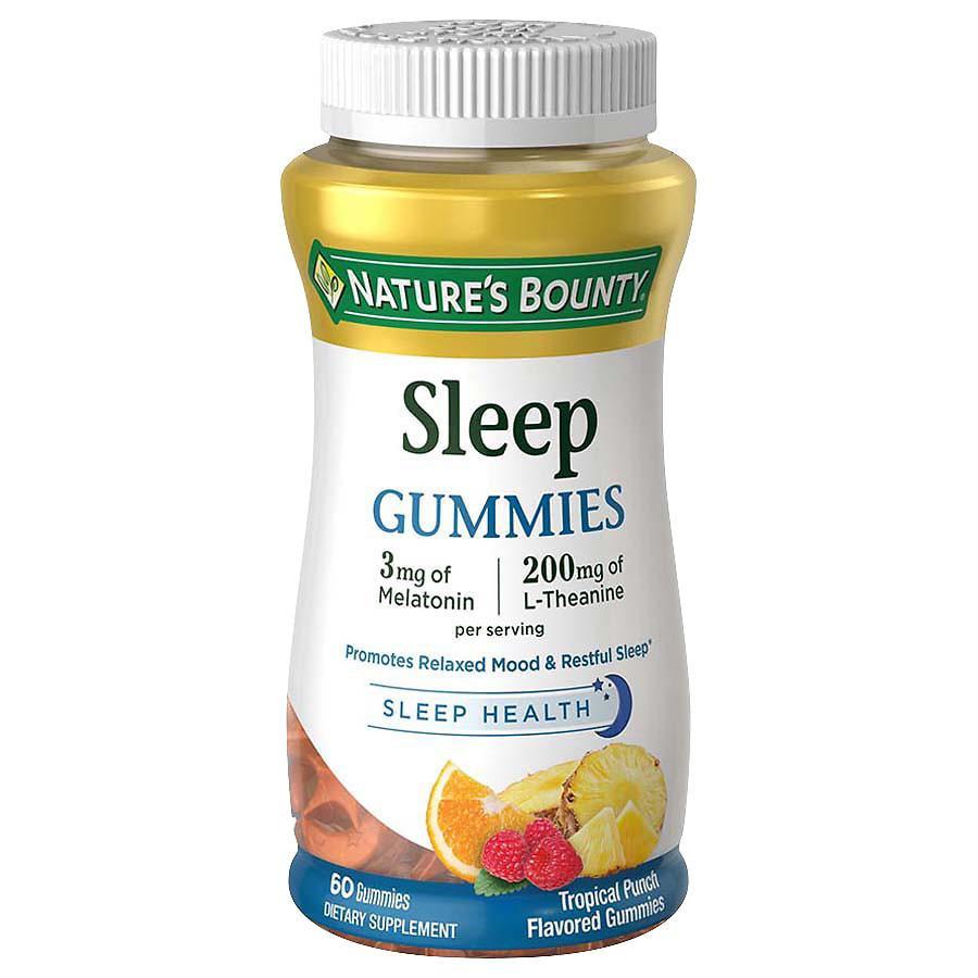商品 褪黑素软糖 3mg 褪黑素/ 200mg 帮助入睡 天然无副作用 图