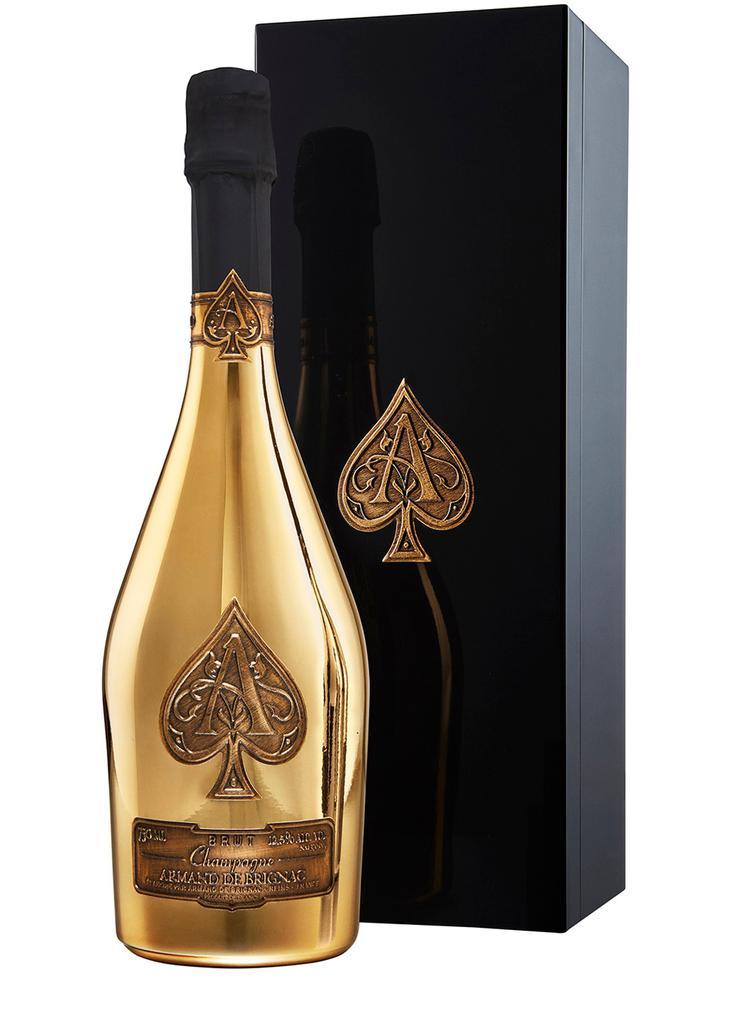 商品 黑桃 A 金香槟  图