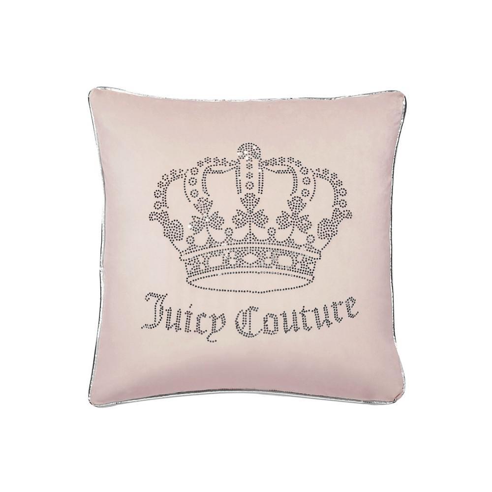 商品 天鹅绒哥特式王冠枕头 抱枕 20 x 20英寸 图