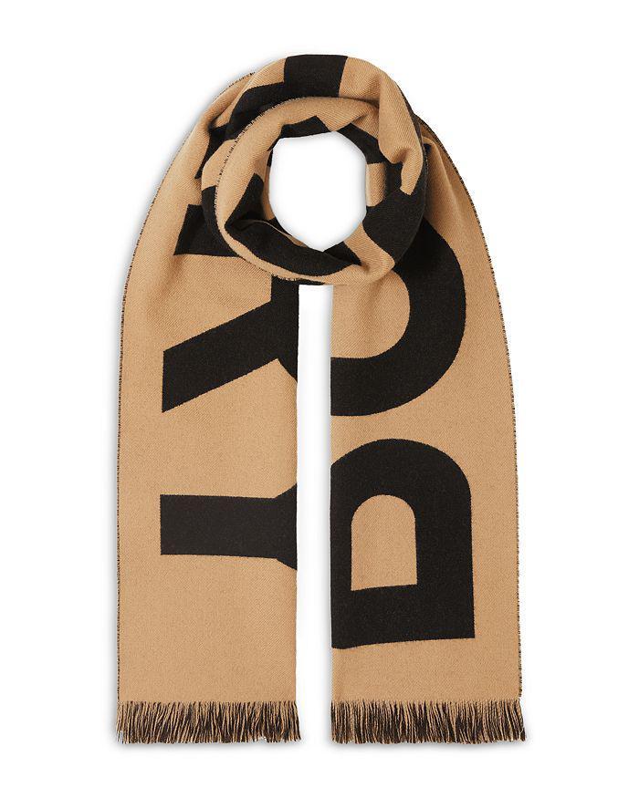 商品 logo印花羊毛围巾 图