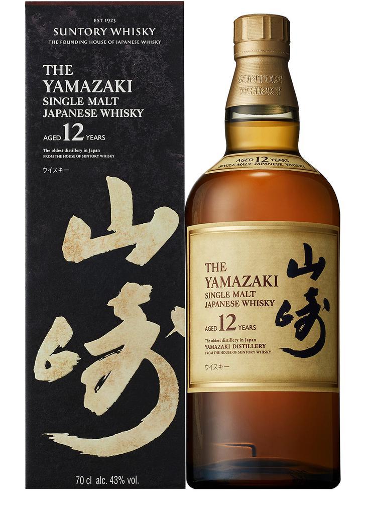 商品 山崎12年单一麦芽日本威士忌  图