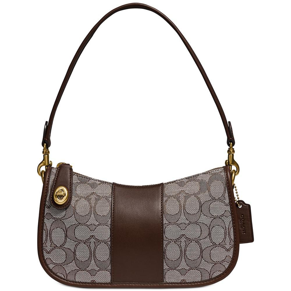 商品 Swinger 经典提花时尚手袋 单肩包 腋下包 图