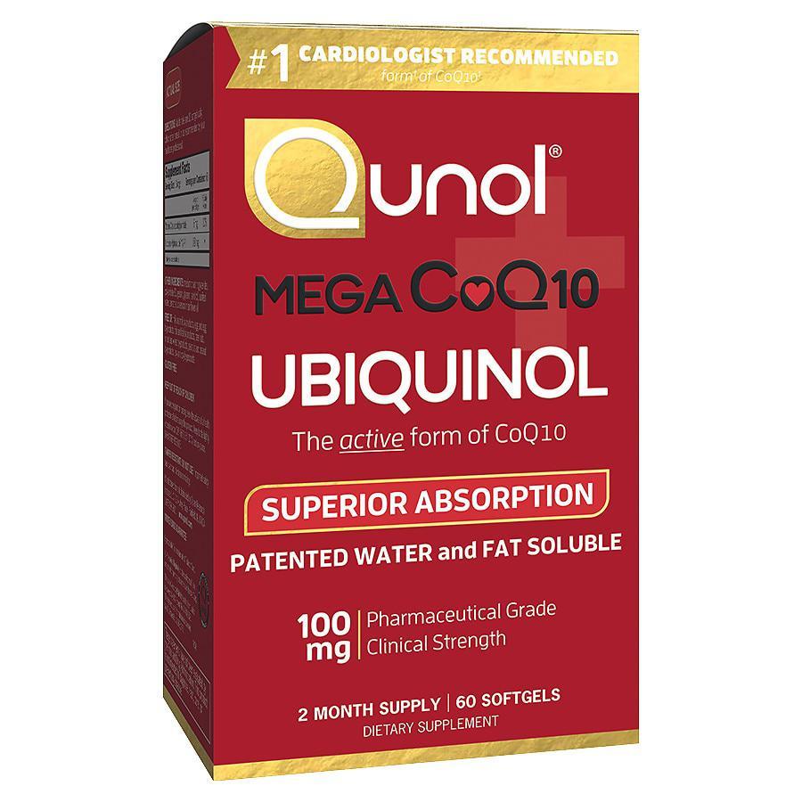 商品 Qunol 还原型活性辅酶Q10 100mg 备孕/心脏 图