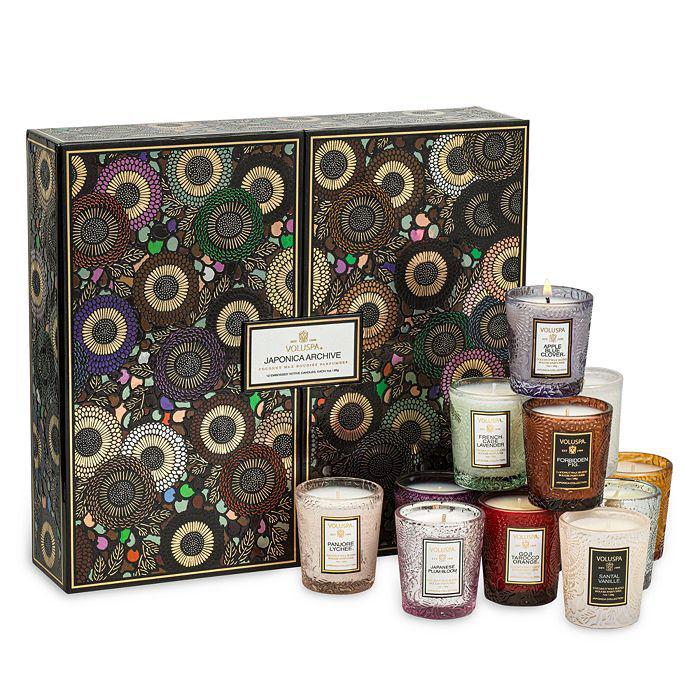 商品 Japonica Archive 12 Embossed Candles Gift Set 图