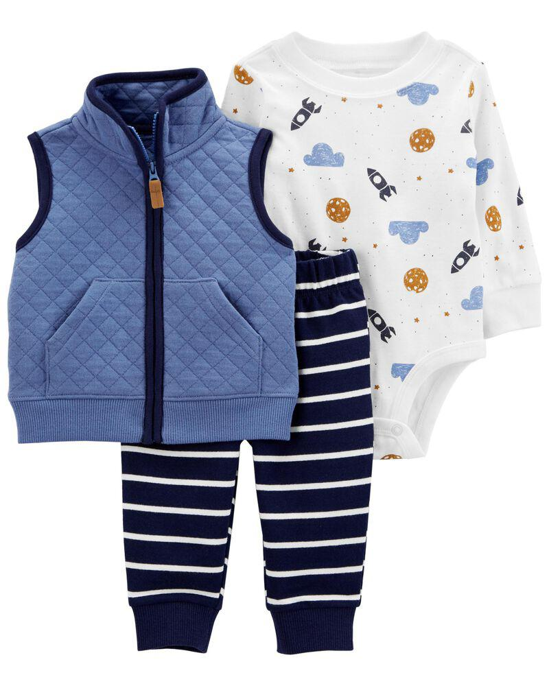 商品 3-Piece Little Vest Set 图