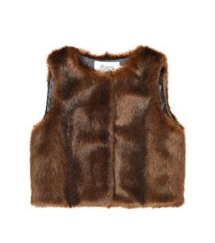商品Poppy faux fur vest图片