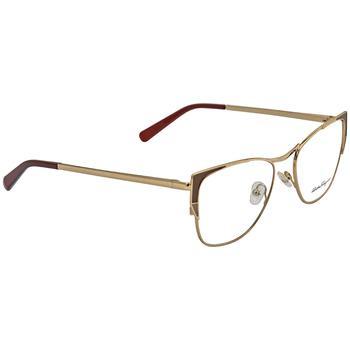 商品Salvatore Ferragamo Square Ladies Eyeglasses SF2163 745 53图片