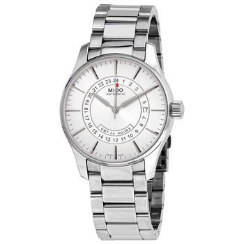 商品美度 Belluna GMT自动机芯 银表盘 40mm 男士机械手表 M0014291103120图片