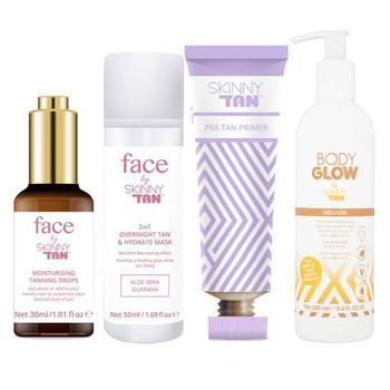 商品Skinny Tan Face and Body Glow Bundle图片