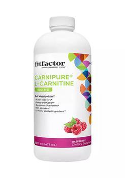 商品Carnipure L-Carnitine 1100MG Supports Fat Metabolism - Raspberry (16 fl oz. / 31 Servings)图片