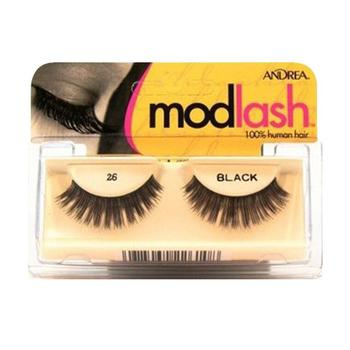 商品Andrea Lashes Strip Style 26, Black, 1 Set图片