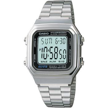 商品卡西欧数码不锈钢手链中性款手表 32mm图片