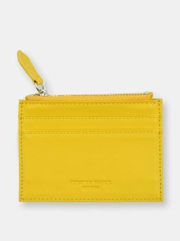 商品Zipper Leather Cardholder图片
