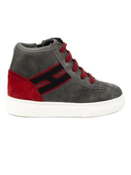 商品Hogan High Top Sneakers H365 In Grey图片