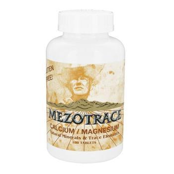 商品Mezotrace calcium magnesium natural minerals and trace elements, 180 Ea图片