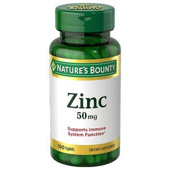 商品Zinc 50 mg Caplets图片