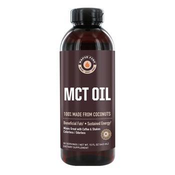 商品Rapid Fire Mct Oil with Beneficial Fats, Coconuts, 15 Oz图片