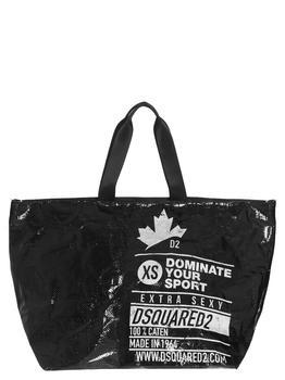 商品Dsquared2 Dominate Sport Print Tote Bag - Only One Size / Black图片