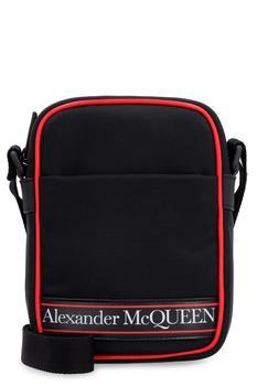 商品Alexander McQueen Nylon Messenger Bag图片