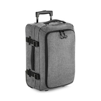 商品BagBase Unisex Escape Carry-On Wheelie Bag (Gray Marl) (One Size)图片