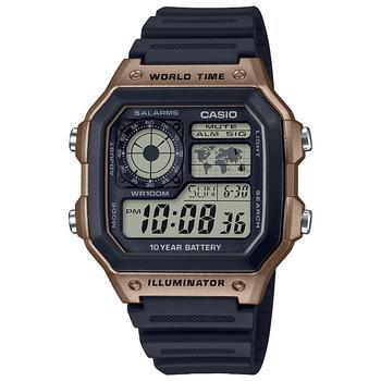 商品男士数字运动腕表, 42.1mm图片