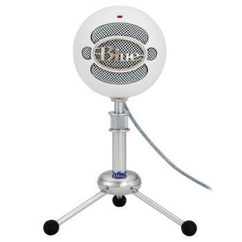 商品Snowball USB Condenser Microphone White图片