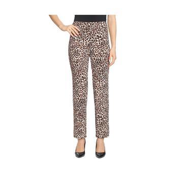 商品T Tahari Womens Animal Print Leggings Straight Leg Pants图片