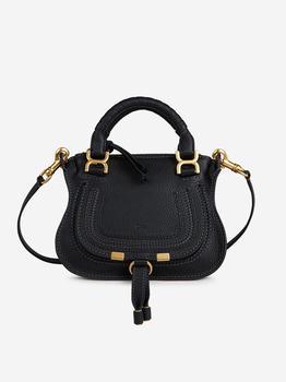 商品Chloé Marcie Mini Tote Bag - Only One Size / Black图片