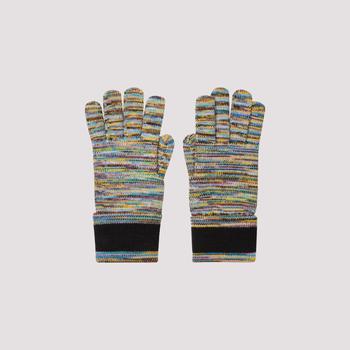 商品Missoni Striped Knit Gloves - S / Multi图片