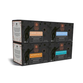 商品Single Serve Coffee Pods for Keurig K Cup Brewers, Flavored Variety Pack, 48 Count图片
