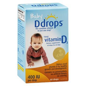 商品宝宝维生素D滴剂 400IU图片