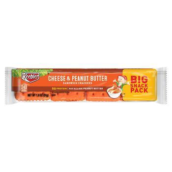 商品Sandwich Crackers Cheese and Peanut Butter图片