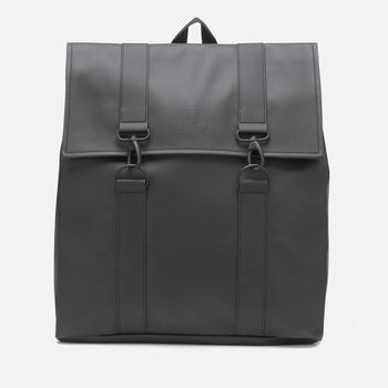 商品RAINS 男士 MSN 后背包 - 黑色图片
