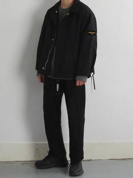 商品Key Ring Smile Black Label Over Fit Short Jacket图片
