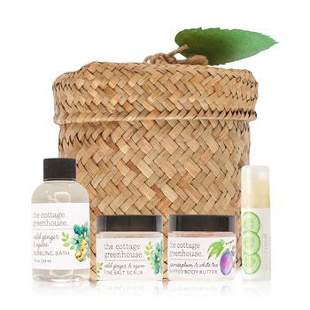商品4-Pc. Herbs & Tea Revitalizing Gift & Travel Set图片