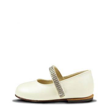 商品Swarovski Strap Shoes Ivory图片