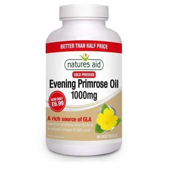 商品Natures Aid Promo Packs Evening Primrose Oil - 1000mg 90 capsule图片
