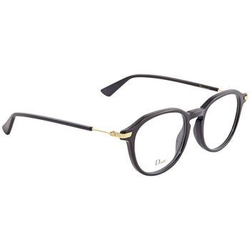 商品Dior Black Round Ladies Eyeglasses DIORESSENCE1780749图片