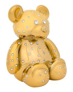 商品24k Gold Swarovski Grand Teddy Luxe Decor图片
