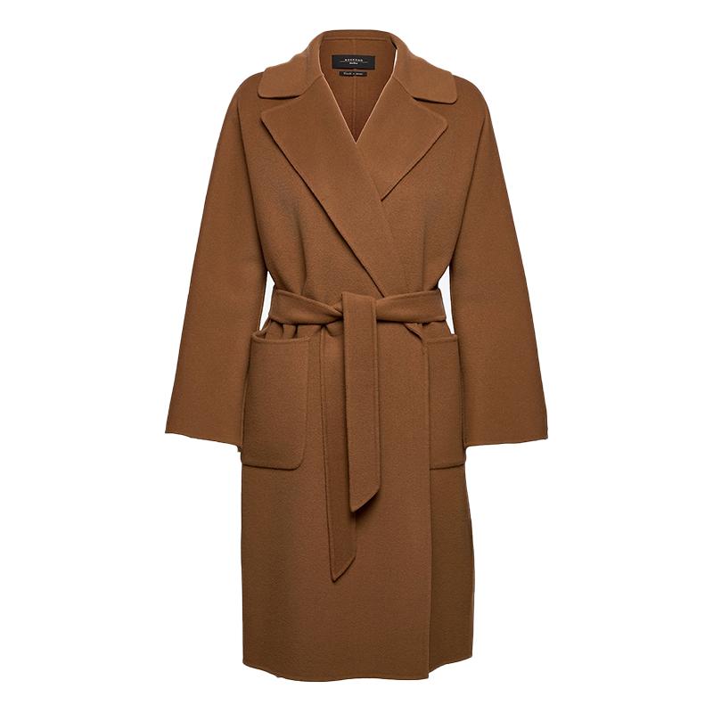 商品ROVO焦糖色羊毛大衣图片