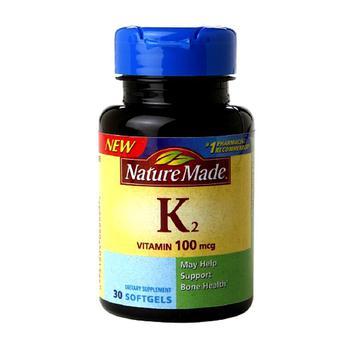 商品Nature Made Vitamin K2 100 Mcg Softgels - 30 Ea图片