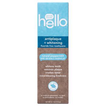 商品Antiplaque + Whitening Fluoride Free Toothpaste图片