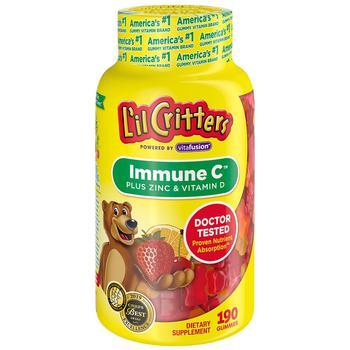 商品免疫系统呵护维生素C&锌&紫锥花提取物软糖 190粒图片
