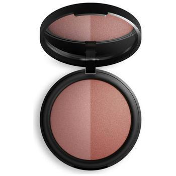 商品INIKA Mineral Baked Blush Duo - Burnt Peach 6.5g图片