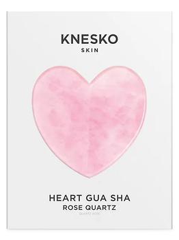 商品Rose Quartz Heart Gua Sha With Antioxidant Eye Mask图片