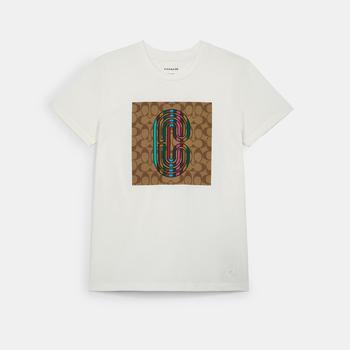 商品COACH Legacy Stripe T Shirt图片