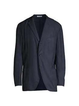 商品Hopsack Wool Sportcoat图片