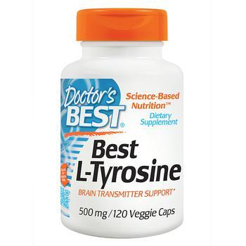 商品L-Tyrosine Veggie Caps图片