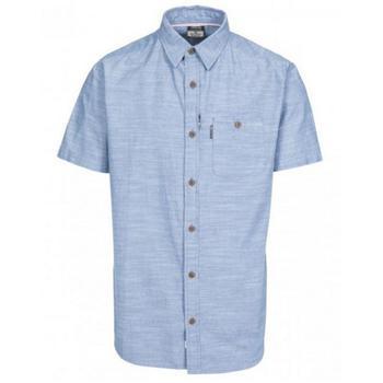 商品Trespass Slapton Mens Short Sleeve Shirt (Denim)图片