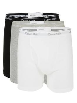 商品3-Pack Logo Cotton Boxer Briefs图片
